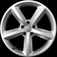 "18"" Audi 5 Spoke wheels 8T0601025CG"
