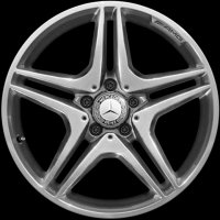 "18"" AMG 5 Twin Spoke wheels A17640103027X21"