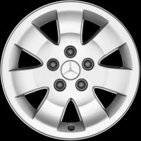 "15"" Mercedes 7 Spoke wheels A4154010900"
