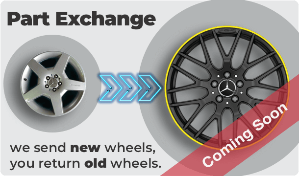 Part Exchange Your Alloy Wheels For New Wheels